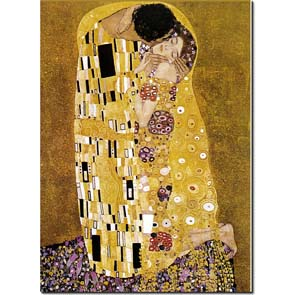 The Kiss by Klimt 50x70 ek.